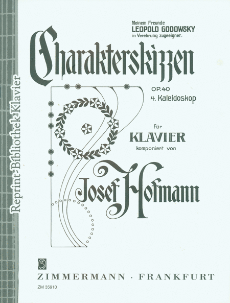 Character Sketches Op.40 No.4 Kaleidoscope