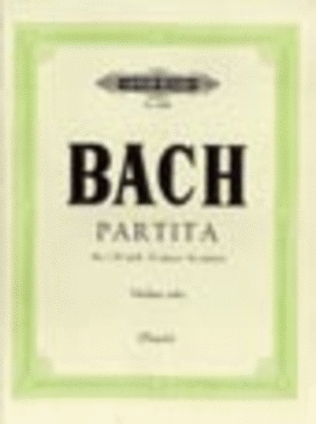 Partita No. 1 in B minor BWV 1002