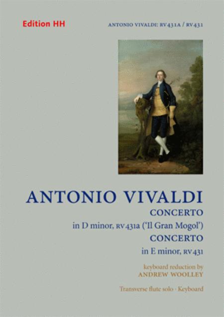 Two flute concertos ('Il Gran Mogol' RV431a and RV431)