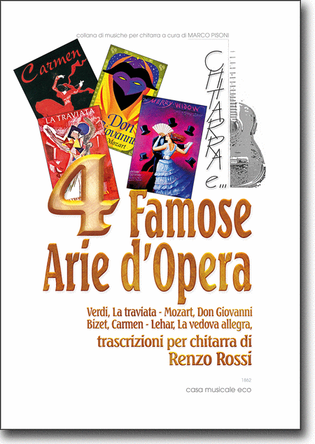 4 Famose Arie d'Opera
