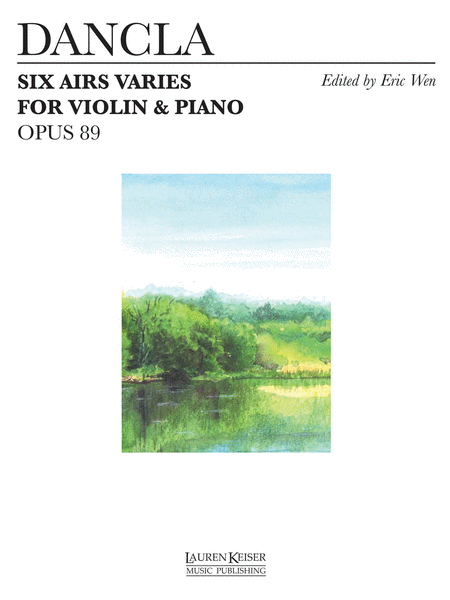 6 Airs Varies, Op. 89