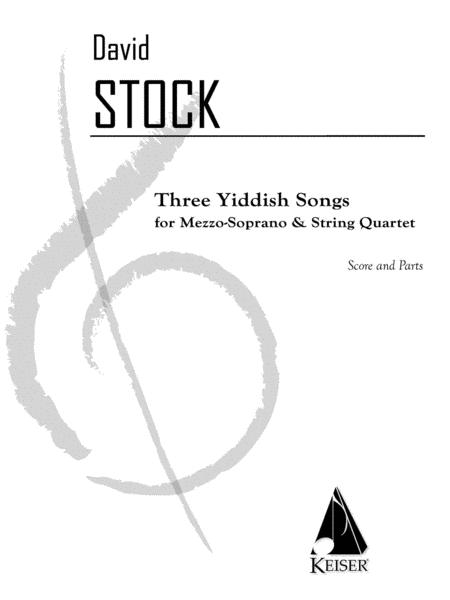 3 Yiddish Songs