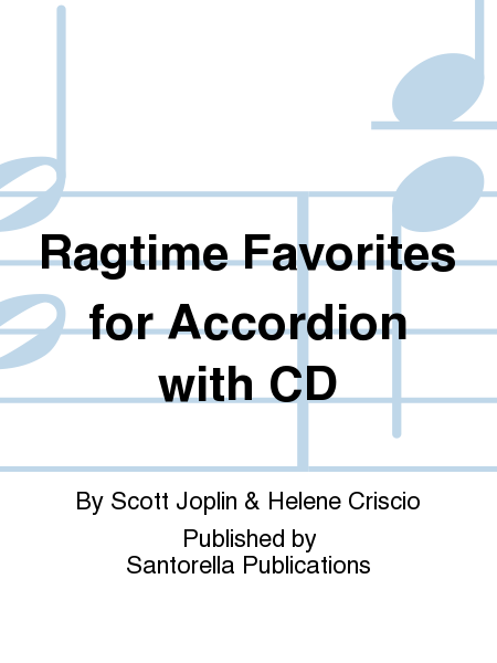 Ragtime Favorites for Accordion with CD