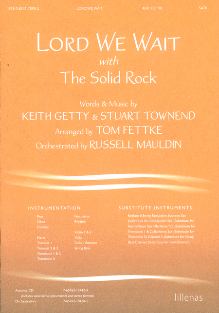 Lord We Wait with the Solid Rock (Anthem)