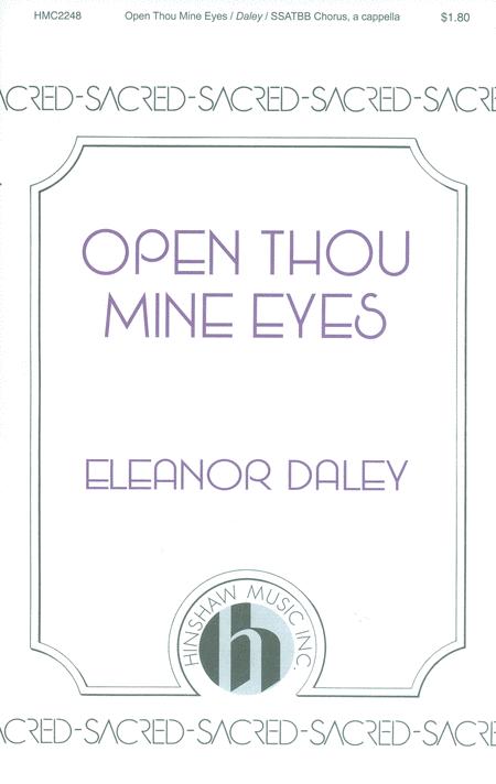 Open Thou Mine Eyes