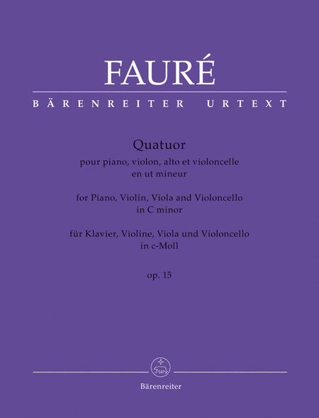 Quatuor c minor op. 15