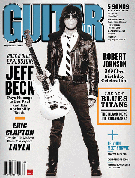 Guitar World Magazine Back Issue - April 2011