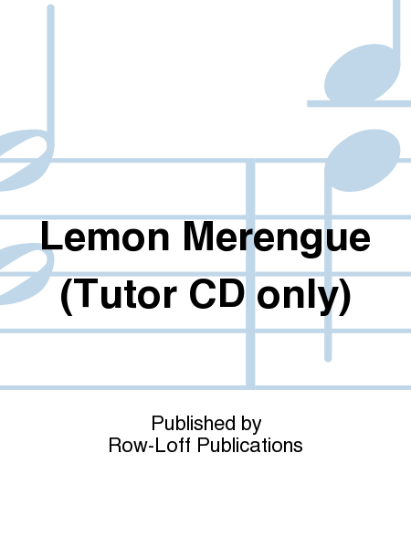 Lemon Merengue (Tutor CD only)
