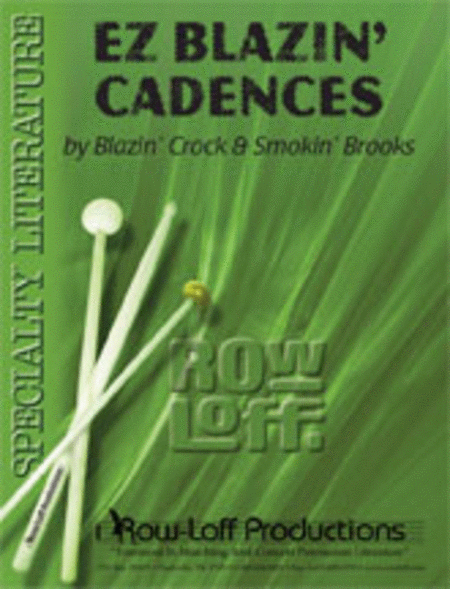 EZ Blazin' Cadences (with CD)