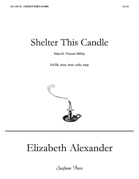 Shelter This Candle (Full Score)