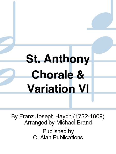 St. Anthony Chorale & Variation VI