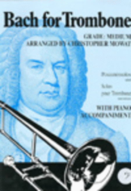 Bach for Trombone (Bass Clef)