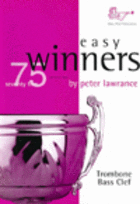 Easy Winners (Trombone, Bass Clef with CD)