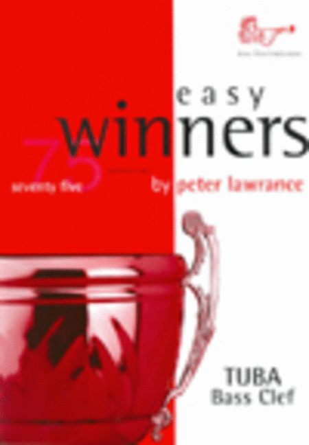 Easy Winners (Tuba, Bass Clef with CD)