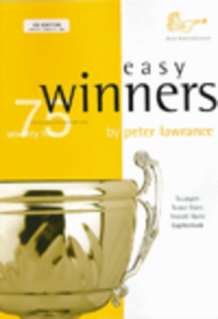 Easy Winners (Trumpet/Trombone/Euphonium with CD)