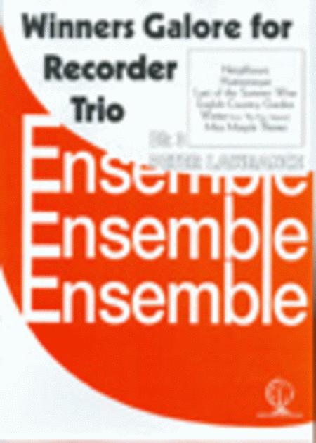 Winners Galore, Book 3 (Recorder Trios)