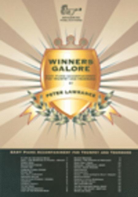 Winners Galore for Trumpet/Trombone/Euphonium (Piano Accompaniment)