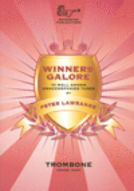 Winners Galore (Trombone, Bass Clef with CD)