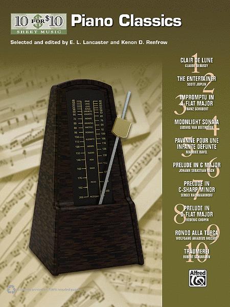10 for 10 Sheet Music Piano Classics