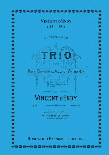 Trio, Op. 29