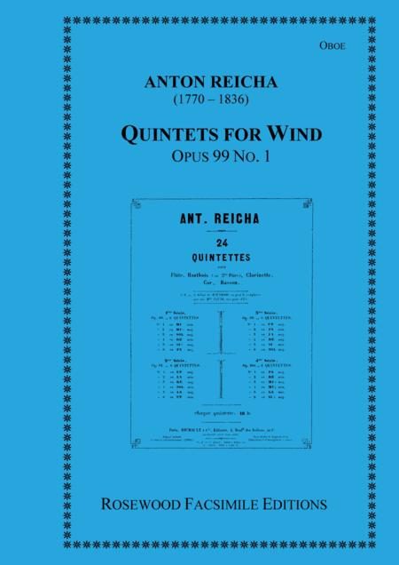 Wind Quintet, Op. 99, No. 1
