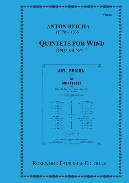 Wind Quintet, Op. 99, No. 2