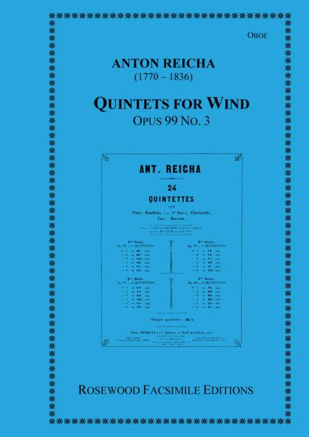 Wind Quintet, Op. 99, No. 3