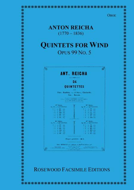 Wind Quintet, Op. 99, No. 5