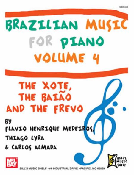 Brazilian Music for Piano, Volume 4