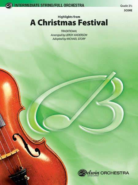 A Christmas Festival, Highlights from