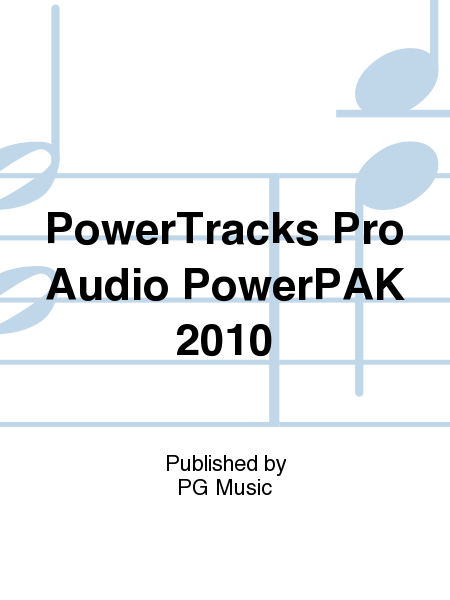 PowerTracks Pro Audio PowerPAK 2010