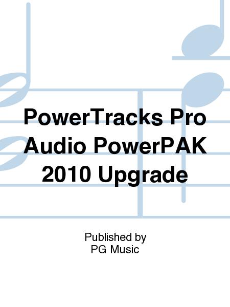 PowerTracks Pro Audio PowerPAK 2010 Upgrade