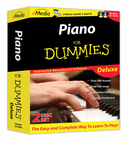 Piano For Dummies Deluxe (2-CD-ROM Set)