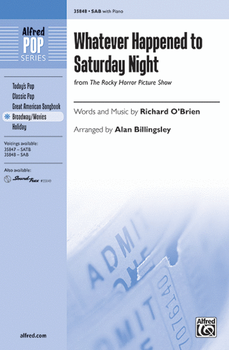 Whatever Happened to Saturday Night