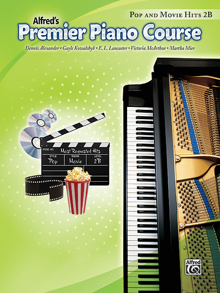 Premier Piano Course Pop and Movie Hits, Book 2B