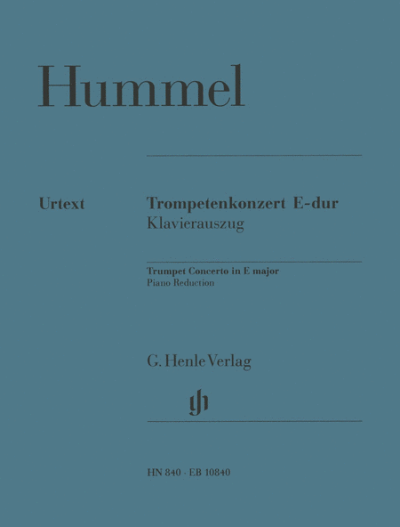Trompetenkonzert E-dur (m. Stimmen E,Es,C,B)