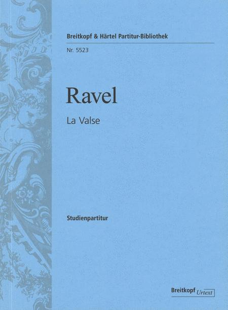 La valse - Poeme choreographique pour orchestre