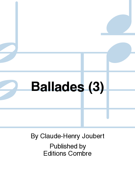Ballades (3)