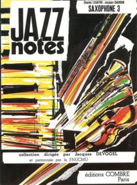 Jazz Notes Saxophone 3 : Blue lullaby - Berry blues