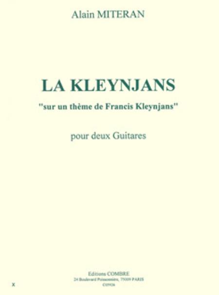 La Kleynjans sur un theme de Francis Kleynjans
