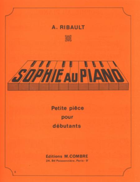 Sophie au piano