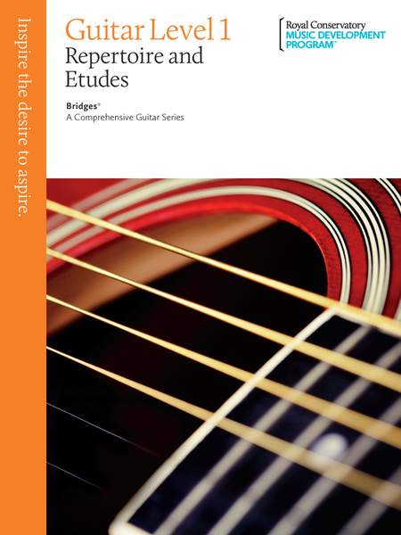Bridges - A Comprehensive Guitar Series: Guitar Repertoire and Studies 1