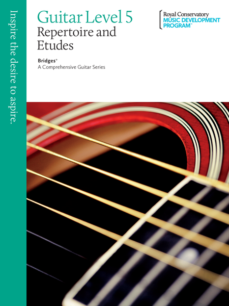 Bridges - A Comprehensive Guitar Series: Guitar Repertoire and Studies 5