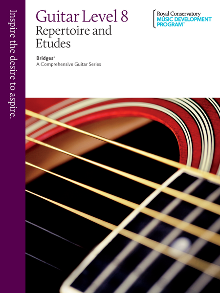 Bridges - A Comprehensive Guitar Series: Guitar Repertoire and Studies 8
