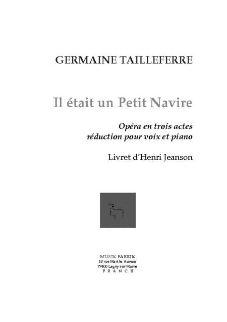 Il etait un Petit Navire (lib by Henri Jeanson)