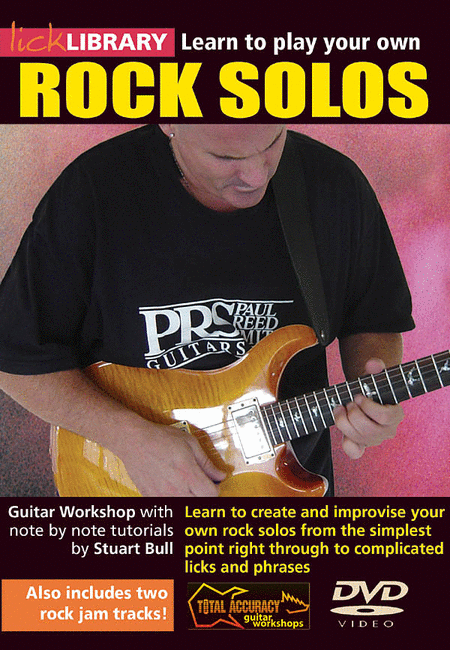 Learn to play a Melodic Rock Guitar Solo - YouTube