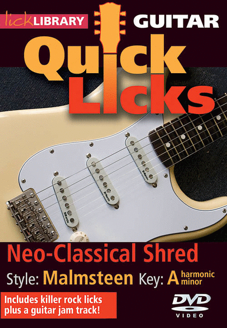 Neo-Classical Shred - Quick Licks
