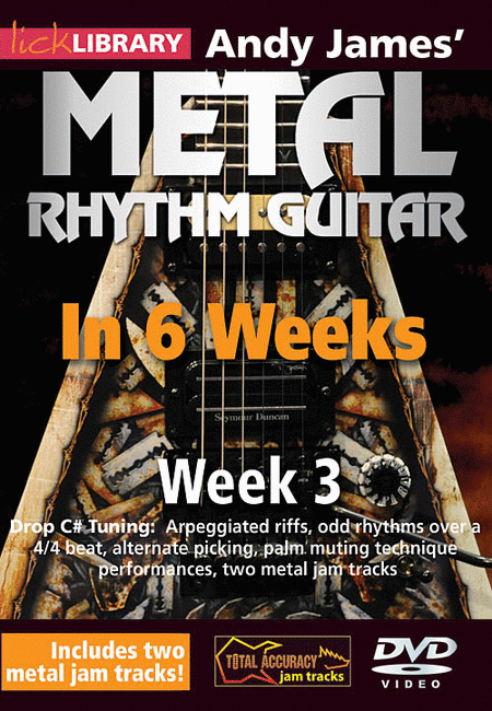 Andy James' Metal Rhythm Guitar in 6 Weeks
