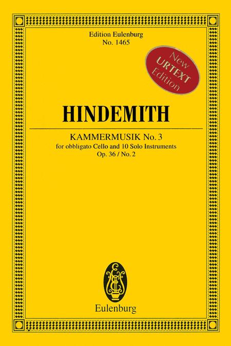 Kammermusik No. 3, Op. 36, No. 2