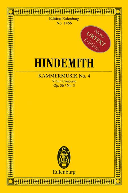 Kammermusik No. 4, Op. 36, No. 3